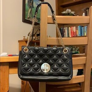 Kate Spade Black Quilted Purse GUC